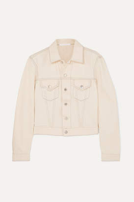 Helmut Lang Denim Jacket - Cream