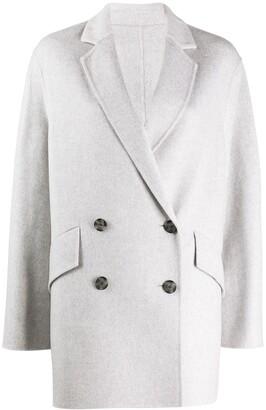 Joseph Double Breasted Oversized Coat