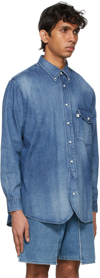 Thumbnail for your product : Kuro Blue J. Press Originals Edition Denim Irving Shirt