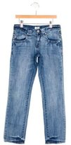 Armani Junior Boys' Five Pocket Straight-Leg Jean