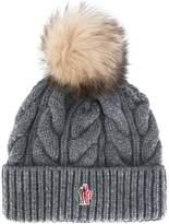Moncler chunky knit pom pom beanie