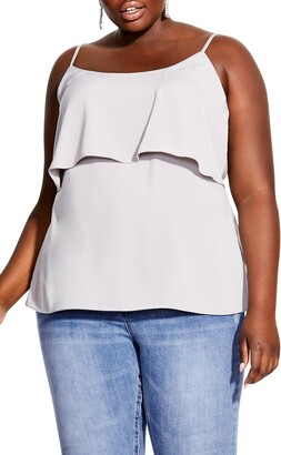 City Chic Sweet Tier Camisole