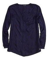 Tommy Hilfiger Big Girl's Bows Woven Top