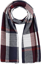 Barneys New York WOMEN'S PLAID ACRYLIC SCARF