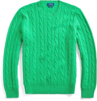 Ralph Lauren Cable-Knit Cashmere Jumper