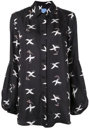 macgraw St. Clair Bird Print blouse