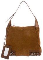 Balenciaga Suede Flap Shoulder Bag