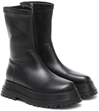Burberry Hurr stretch-leather ankle boots