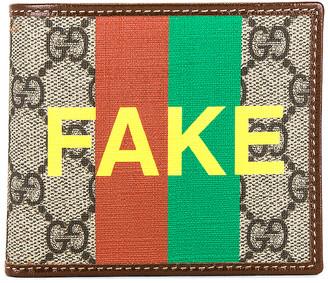 Gucci Wallet in Beige & Green & Red | FWRD