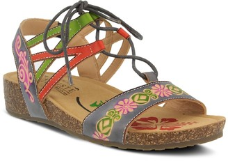Spring Step Lartiste By L'Artiste By Loma Women's Ghillie Sandals