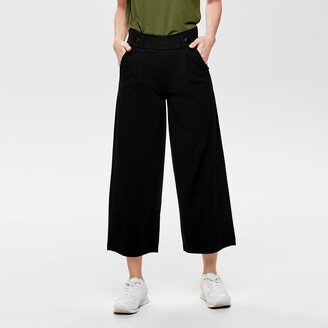Jacqueline De Yong Wide Leg Trousers with High Waist