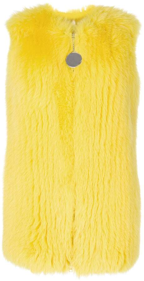 Givenchy classic fur gilet