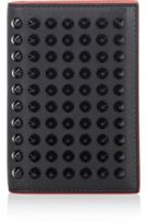 Christian Louboutin Men's Sifnos Folding Card Case-BLACK