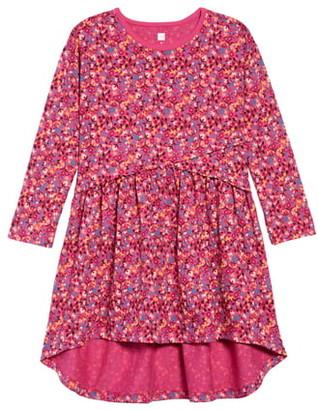 Tea Collection Long Sleeve High/Low Dress