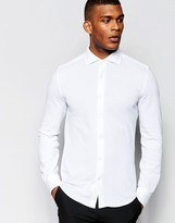 United Colors Of Benetton Pique Cotton Shirt
