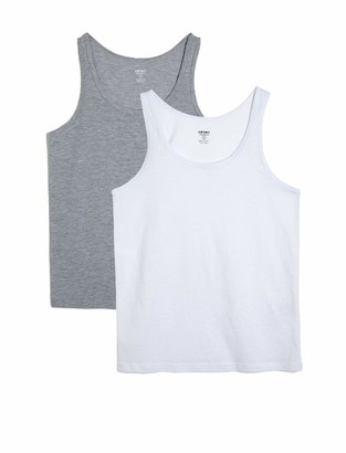 Koton Men's 2-er Pack Tanktop Undershirt