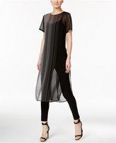 Calvin Klein Sheer Tunic Top