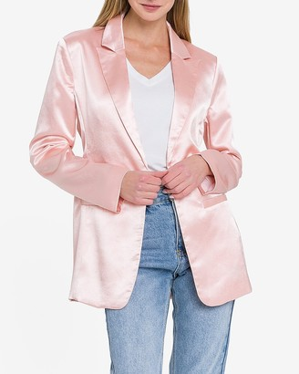 Express Endless Rose Pink Blazer