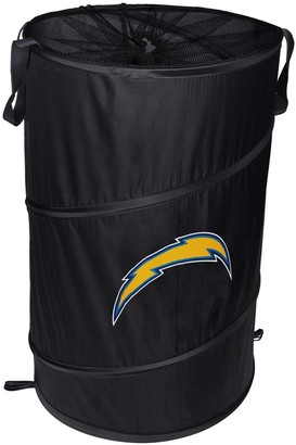 Los Angeles Chargers Cylinder Pop Up Hamper