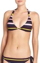 Ted Baker Women's 'Modern Stripe' Halter Bikini Top