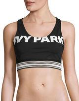Ivy Park Medium Support Logo Sports Bra