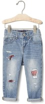 Gap babyGap + Pendleton rip & repair girlfriend jeans