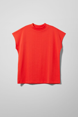 Weekday Prime T-Shirt - Red