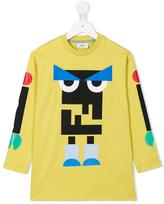 Fendi 'Monster' printed T-shirt