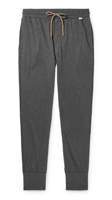 Paul Smith Slim-Fit Tapered Melange Cotton-Jersey Sweatpants