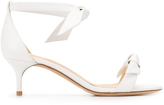 Alexandre Birman Bow-Fastened Low Heel Sandals
