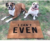 Lulu & Georgia I Can't Even Doormat