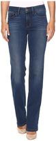 NYDJ Marilyn Straight in Future Fit Denim in Sea Breeze Women's Jeans