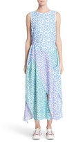 Julien David Women's Wave Print Sleeveless Dress