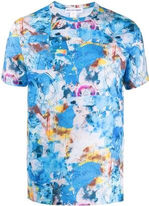Comme des Garçons Shirt all-over print T-shirt