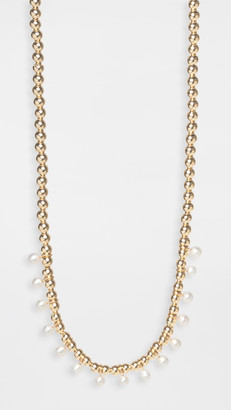 Zoë Chicco 14k Gold Chain Necklace with Gold Beads
