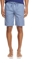 Hanro Harvey Tile Print Lounge Shorts