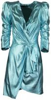 Elisabetta Franchi Celyn B. Short Dress With Balloon Sleeves