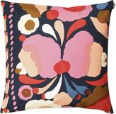 Marimekko Tuppura Cushion Cover - 50x50cm - Blue/Red/Yellow