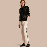 Burberry Tailored Silk Track Pants
