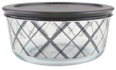 Pyrex Food Storage Container 4cup Grey