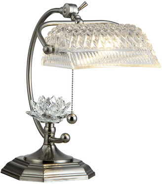 Dale Tiffany Althea Hand Cut Crystal Desk Lamp