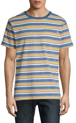 Publish Brand Short Sleeve Stripe Crew Neck Tee