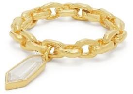 Patcharavipa - Single Diamond & 18kt Gold Ring - Womens - Gold