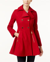 Laundry by Shelli Segal Petite Skirted Swing Coat