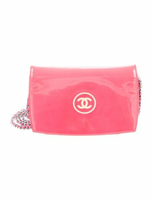 Chanel CC Wallet On Chain Pink
