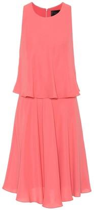 Max Mara Fata sleeveless georgette dress