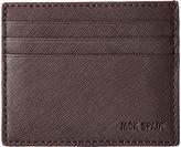 Jack Spade Barrow Leather Six Card Holder