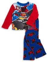 AME Sleepwear Batman and Superman Pajama Set