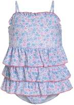 Mothercare FLORAL Swimsuit blue
