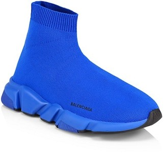 Balenciaga Little Kid's & Kid's Speed LT Stretch-Knit High-Top Sneakers